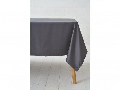 Staltiesė tamsiai pilka grafito saten 2