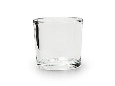 Stiklinė vaza cilindas