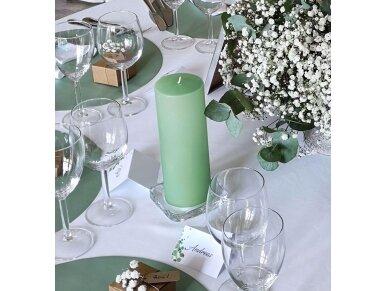 Stiklinė žvakidė, 10x10 cm 2