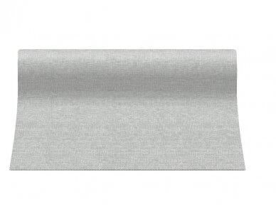 Takelis  lino struktūros pilkas Airlaid, linen structure grey