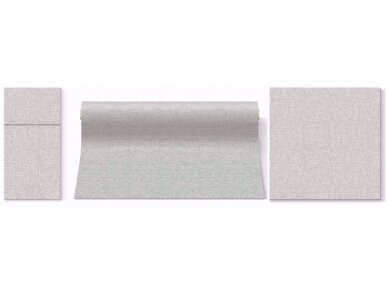 Takelis  lino struktūros pilkas Airlaid, linen structure grey 2
