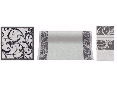 Takelis pilkas Airlaid, Fabric ornament 2