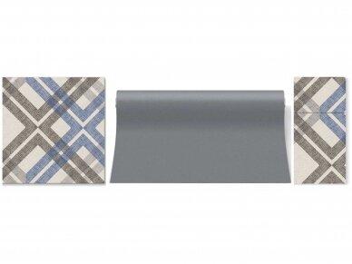 Takelis pilkas Airlaid, grey 2