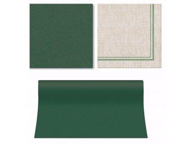 Takelis  žalias Airlaid, dark green 2