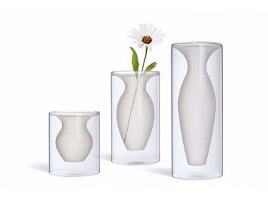 Vaza stiklinė ESMERALDA 4