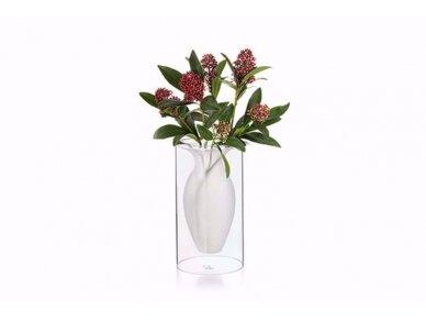 Vaza stiklinė ESMERALDA