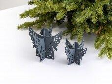 """Kalėdiniai stalo papuošimai """"Angelas"""", pilka"""