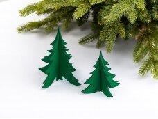 """Kalėdiniai stalo papuošimai """"Eglutė"""", žalia"""