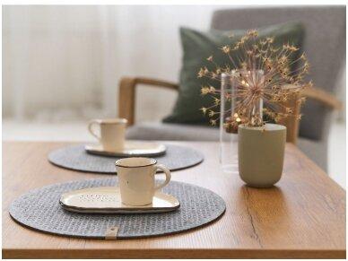 Veltiniai stalo padėkliukai – daugiau nei tik jauki interjero detalė
