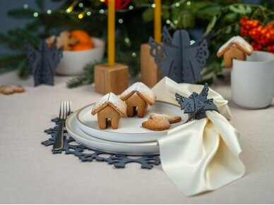 """Kalėdiniai stalo papuošimai """"Angelas"""", žalia 4"""