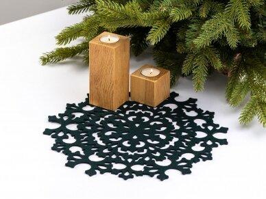 """Kalėdinis padėkliukas """"Snaigė"""" 4"""