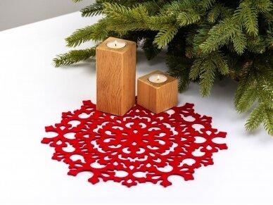 """Kalėdinis padėkliukas """"Snaigė"""" 5"""