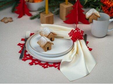 """Kalėdinis padėkliukas """"Snaigė"""" 6"""