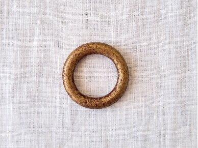 """Žiedai servetėlėms """"Bordo dėmelės"""" 2"""