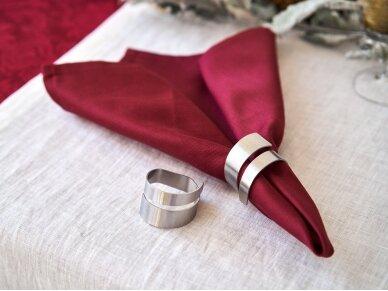 """Žiedas servetėlei """"Sidabras"""" 3"""