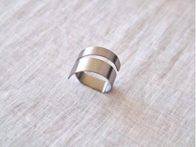 """Žiedas servetėlei """"Sidabras"""""""