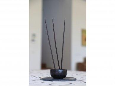 Žvakės plonos 0,5 cm mėlynos, 8 vnt. 3