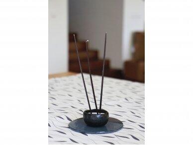 Žvakės plonos 0,5 cm žalios, 8 vnt. 5